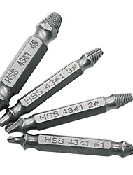 cheap -Screw Removal Tool Drill Bit Set 4PCS