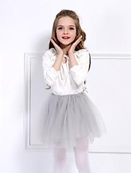 cheap -Princess Dress Petticoat Hoop Skirt Tutu 1950s Cotton Red Pink Fuchsia Petticoat / Kid's / Under Skirt / Crinoline
