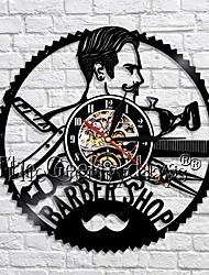 Недорогие -парикмахерская часы украшения настенные часы парикмахерские виниловые настенные часы