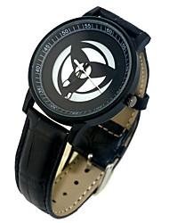 Недорогие -Часы Вдохновлен Наруто Косплей Аниме Косплэй аксессуары 1 часы Кожа PU Сплав Костюмы Хэллоуина