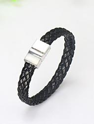 abordables -Homme Basique Alliage Couleur Pleine / bracelet