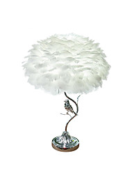 cheap -Contemporary / Artistic New Design Table Lamp For Living Room / Bedroom Metal 110-120V / 220-240V Grey / White / Blushing Pink