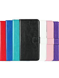 cheap -Case For Apple iPhone XS / iPhone XR / iPhone XS Max Wallet / Card Holder / Flip Full Body Cases Solid Colored PU Leather