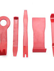 Недорогие -5шт автомобильная панель двери отделка панели литьевой зажим для снятия фиксатора удаления подглядывать набор инструментов