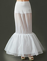 cheap -Petticoat Hoop Skirt Tutu Under Skirt 1950s White Petticoat / Crinoline
