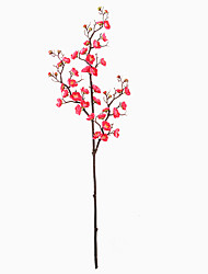 cheap -Artificial Flowers 2 Branch Classic Classical Traditional / Classic Plum Eternal Flower Tabletop Flower