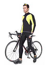 cheap -Men's Cycling Tights Bike Pants / Trousers Pants Bottoms Breathable 3D Pad Quick Dry Sports Black Clothing Apparel Bike Wear / Micro-elastic