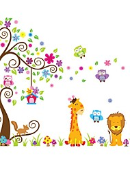 cheap -Decorative Wall Stickers - Plane Wall Stickers Animals / Shapes Indoor / Kids Room