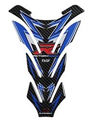 Недорогие -5d настоящее углеродного волокна мотоцикл топливный бак колодки наклейки крышка бензобака наклейки для Honda Yamaha Kawasaki Suzuki