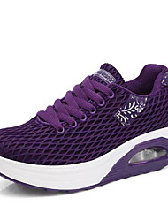 cheap -Women's Tissage Volant Spring Athletic Shoes Swing Shoes Wedge Heel Black / Gray / Purple