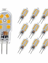 cheap -10PCS 3W 180LM G4 12LED 2835SMD LED Bi-pin Lights Warm White Cold White Natural White Light Bulb AC 220-240V