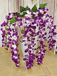 Недорогие -Искусственные Цветы 1 Филиал Классический европейский Фиолетовый Вечные цветы Корзина Цветы