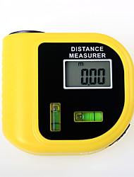 cheap -CP-3010 Laser Ultrasonic Range Finder Yellow Laser Ultrasonic Handheld Portable Distance Meter