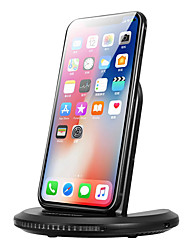 cheap -2-Coils 12W Qi Wireless Car Charger Fast Charging Stand Station Dock For iPhone X/8/Plus Samsung S8