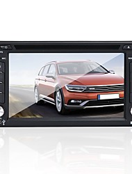 cheap -Factory OEM YYD-6200 6.2 inch 2 DIN Windows CE 5.0 In-Dash Car DVD Player Touch Screen / Built-in Bluetooth / Steering Wheel Control for Toyota / Nissan / Honda RCA / Mini USB / AV out Support AVI