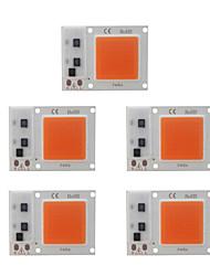 cheap -5pcs 20W DIY LED COB Chip Plant Grow Light for Flower Seeding AC180-265V