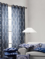 cheap -Neoclassical Room-darkening One Panel Sheer Bedroom   Curtains