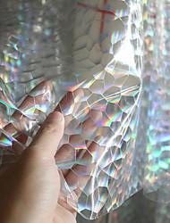 abordables -PVC Couleur Future-Magic Broderie 135 cm largeur en tissu pour Mariée vendu par le 0.45m