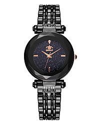 cheap -Women's Wrist Watch Quartz Stainless Steel Black / Blue / Brown Water Resistant / Waterproof Casual Watch Analog Fashion Colorful - Brown Blue Rose Gold