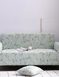 cheap -Sofa Cover Plants / Floral / Classic Reactive Print Polyester Slipcovers