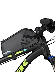 cheap -0.9 L Bike Frame Bag Waterproof Portable Wearable Bike Bag 600D Ripstop Bicycle Bag Cycle Bag Outdoor Exercise Bike / Bicycle