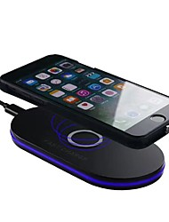 cheap -Q100 Wireless Car Charger Qi Standard Fast Charging with LED USB Charger Pad