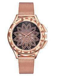 Недорогие -Жен. Часы-браслет золотые часы На каждый день Мода Розовое золото силиконовый Китайский Кварцевый Розовое Золото Повседневные часы 1 ед. Аналоговый Один год Срок службы батареи
