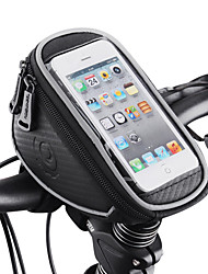 cheap -ROSWHEEL Cell Phone Bag Bike Handlebar Bag 4.8 inch Touch Screen Waterproof Cycling for Samsung Galaxy S4 iPhone X iPhone XR Black Cycling / Bike / iPhone XS / iPhone XS Max