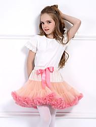 cheap -Princess Fairytale Ballet Dancer Dress Petticoat Hoop Skirt Tutu 1950s Princess Tulle Cotton Red and White Black / Red Jacinth +Gray Petticoat / Kid's / Under Skirt / Crinoline