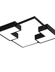 cheap -1-Light 50 cm Mini Style / Dimmable / LED Flush Mount Lights Metal Geometrical / Novelty Painted Finishes Artistic / Chic & Modern 110-120V / 220-240V