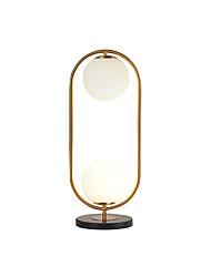 cheap -Table Lamp Contemporary Artistic For Living Room Bedroom Metal 110-120V 220-240V Gold