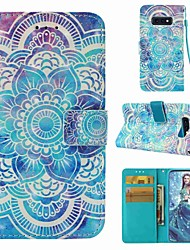 cheap -Case For Samsung Galaxy S9 / S9 Plus / S8 Plus Wallet / Card Holder / Flip Full Body Cases Mandala Hard PU Leather