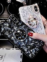cheap -Phone Case For Apple Back Cover iPhone XR iPhone XS iPhone XS Max iPhone X iPhone 8 Plus iPhone 8 iPhone 7 Plus iPhone 7 iPhone 6s Plus iPhone 6s Rhinestone Rhinestone Hard Acrylic