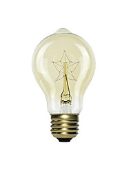 cheap -1pc 40 W E26 / E27 Yellow Incandescent Vintage Edison Light Bulb 220-240 V
