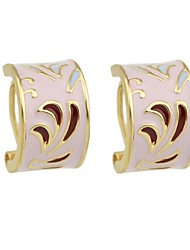 cheap -Women's Stud Earrings Geometrical Stylish Ethnic Earrings Jewelry Pink For Daily Date 1 Pair
