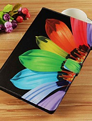 cheap -Case For Samsung Galaxy Tab S4 10.5 (2018) / Tab A2 10.5(2018) T595 T590 / Tab E 9.6 Wallet / Card Holder / with Stand Full Body Cases Flower Hard PU Leather