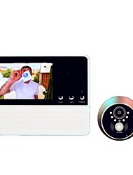 cheap -Wireless Digital Video Door Phone Systems Security Door Viewer Built in Speaker 3.2 inch Hands-free One to One video doorphone