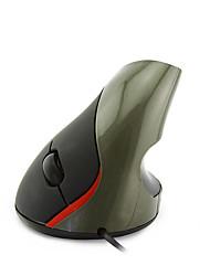 cheap -LITBest 2d Wired USB Laser Office Mouse / Vertical Mouse Red Backlit 1000 dpi 3 Adjustable DPI Levels 5 pcs Keys