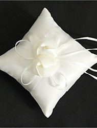cheap -Cloth Demin Flower Cotton / Linen Ring Pillow Wedding / Flower All Seasons