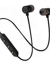 abordables -LITBest Serre-tête Sans Fil 4.1 Sports & Activités d'Extérieur Stereo Isolation du bruit Avec contrôle du volume Attraction magnétique Sport & Fitness