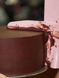 Недорогие -скребок для торта гладкий регулируемый помадка шпатели край торта гладкий крем