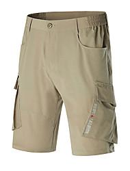 cheap -Men's Hiking Cargo Shorts Outdoor Lightweight Quick Dry Stretchy Wear Resistance Pants / Trousers Bottoms Hiking Outdoor Exercise Multisport Black Dark Grey Grey M L XL XXL XXXL / Elastic Waist