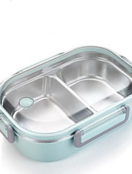 cheap -Japanese Portable Lunch Box For Kids School Stainless Steel Bento Box Kitchen