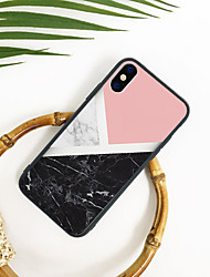 cheap -Case For Apple iPhone XS / iPhone XR / iPhone XS Max Pattern Back Cover Marble Hard TPU / Acrylic