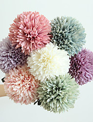 cheap -Artificial Flower Dandelion Decoration Wedding Holding Flower Road Lead Flower Wall