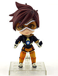 cheap -Anime Action Figures Inspired by Overwatch Cosplay PVC(PolyVinyl Chloride) 10 cm CM Model Toys Doll Toy