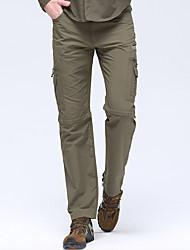 abordables -Homme Pantalons de Randonnée Pantalons convertibles Extérieur Respirable Séchage rapide Faible Frottement Résistance à l'usure Elasthanne Pantalons / Surpantalons Randonnée Activités Extérieures