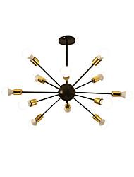 cheap -Sputnik Chandelier Ambient Light Painted Finishes Metal New Design 110-120V / 220-240V