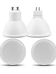 cheap -1pc 6 W 500 lm 10 LED Beads LED Spotlight Warm White Cold White 220-240 V