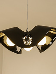 Недорогие -3-Light 50 cm Новый дизайн Подвесные лампы Металл Стекло Оригинальные Окрашенные отделки LED / Modern 110-120Вольт / 220-240Вольт